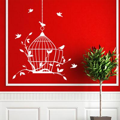 Stickers decorativi da parete arredo e design casa e for Poster decorativi per pareti